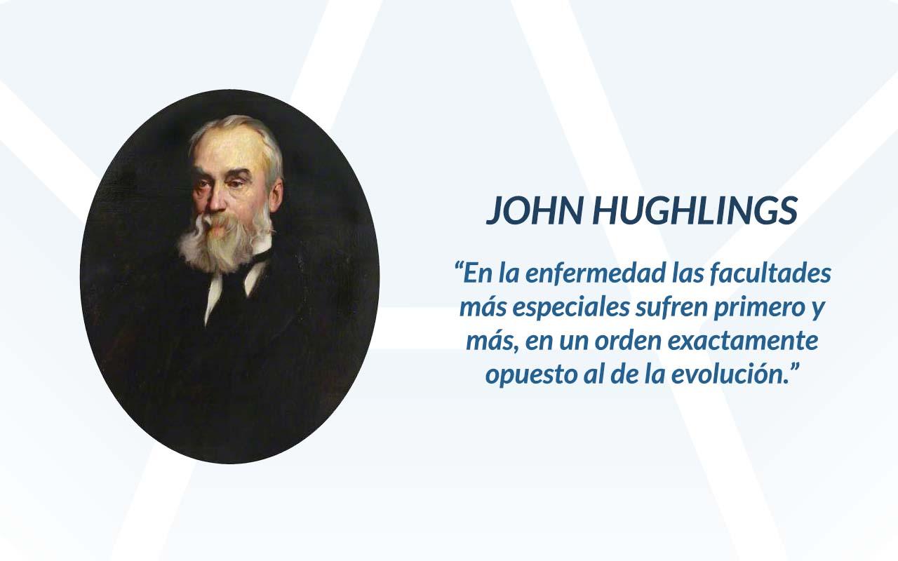 John Hughlings frase o cita.