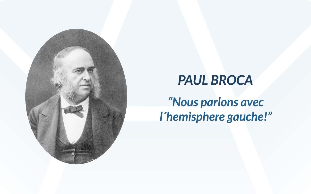 Paul broca cita célebre. Precursor sobre el estudio de la afasia.