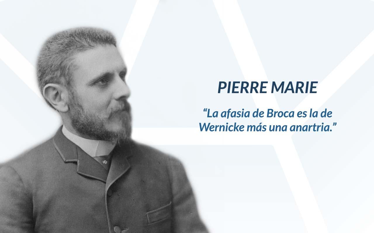 Pierre Marie, teoría holística en el estudio de la afasia